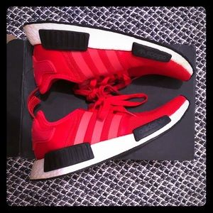 Adidas NMD r1 clear red
